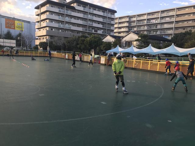伊丹市立ローラースケート場