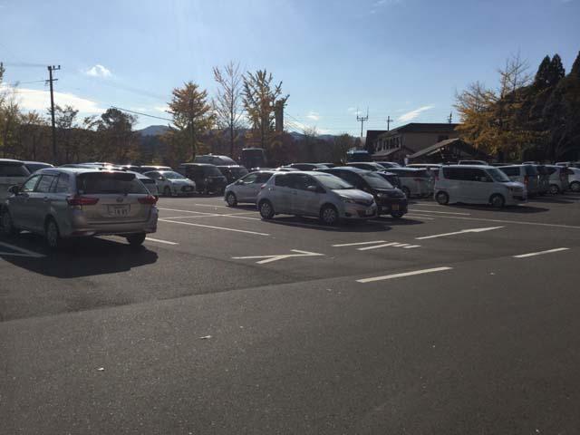 曽木の滝公園駐車場