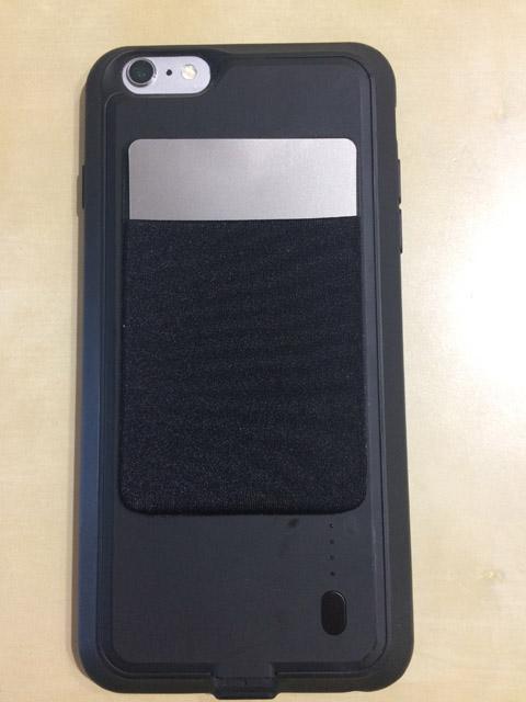 【あったらいいな、をカタチにしてみた】iPhoneのバッテリーケースにカード収納機能を追加してみた