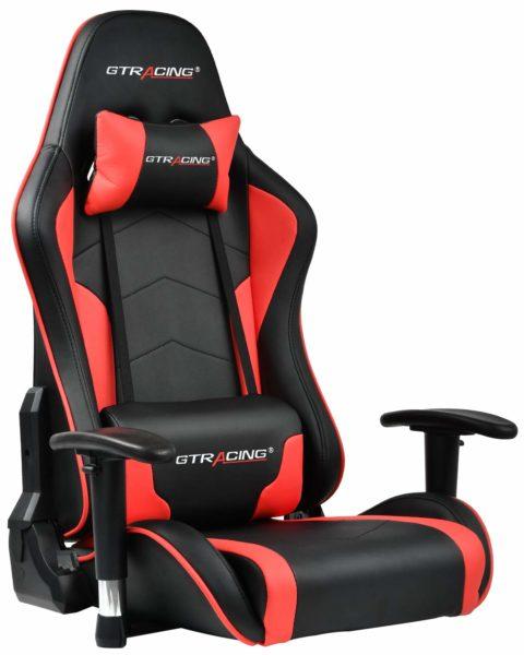 GTRACING ゲーミング座椅子 (89-RED)