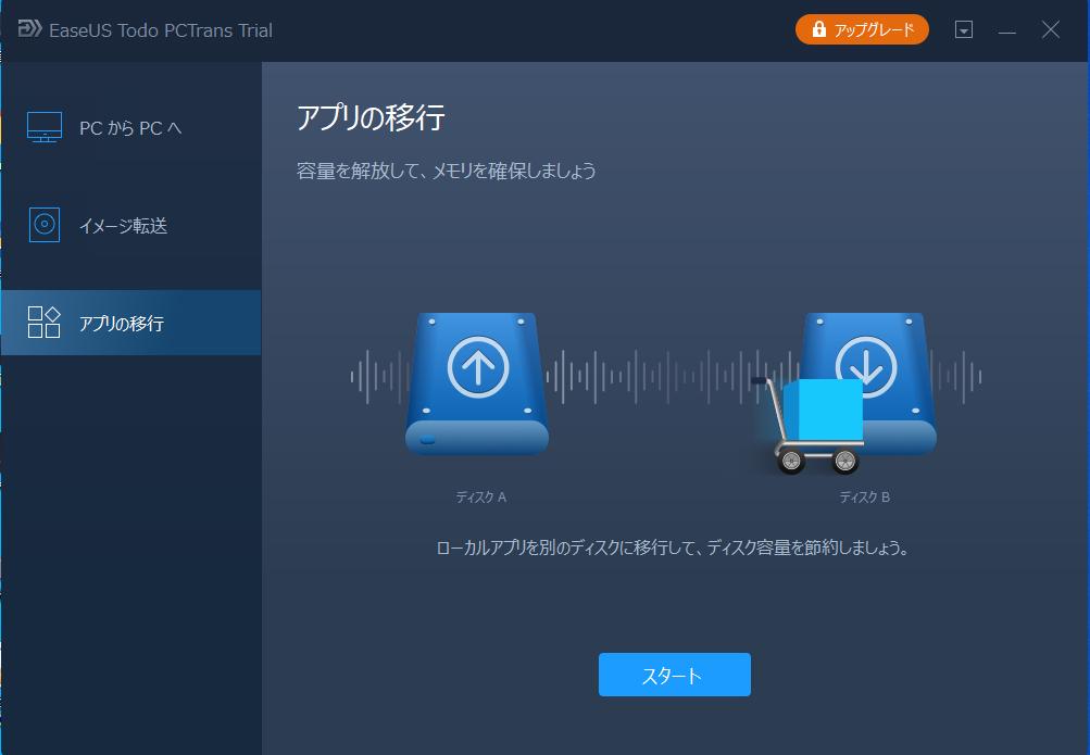 アプリの移行